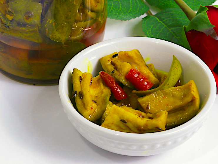 Mango Pickle Photo by Miriam Kinunda